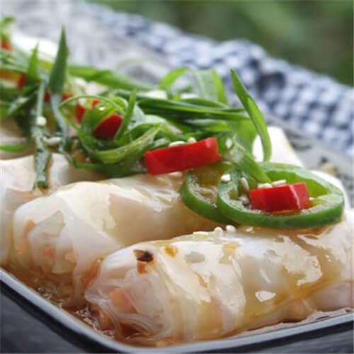 火腿虾米香菇韭黄银针
