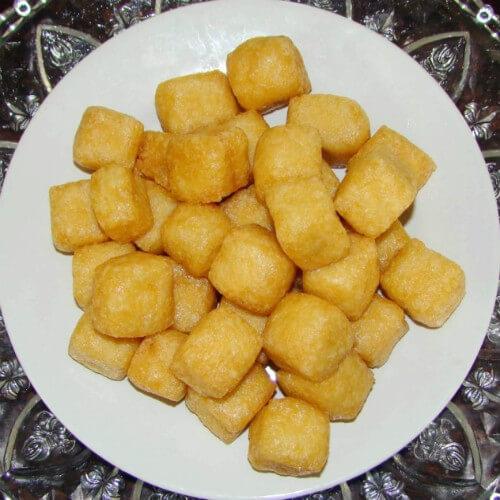 异形豆腐泡
