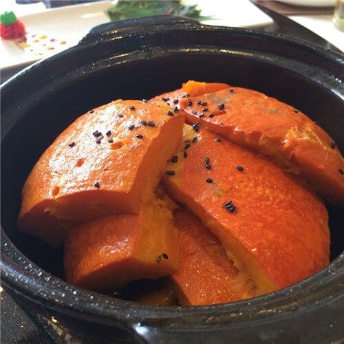 老炖蛋金瓜盅