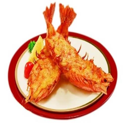 酥皮薯泥起司虾