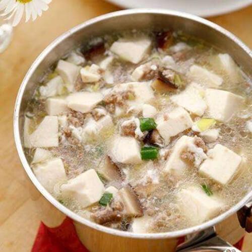 牛肉豆腐羹