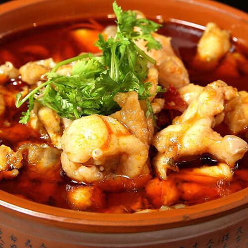 麻婆臭豆腐煲