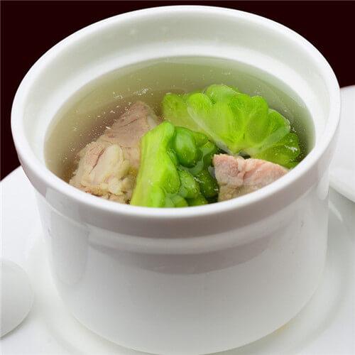 苦瓜排骨黄瓜汤