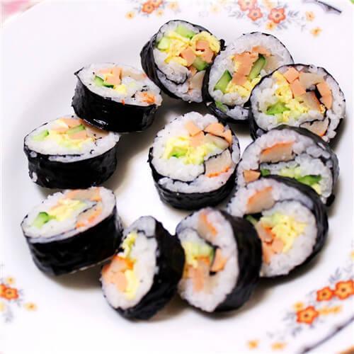 韩式原味紫菜包饭