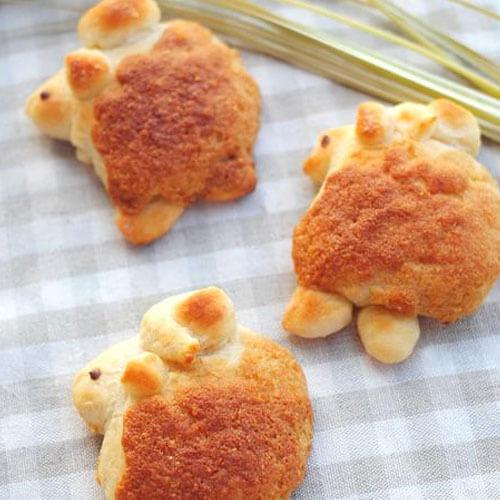 小绵羊面包