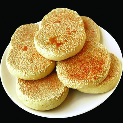 老北京油酥芝麻烧饼
