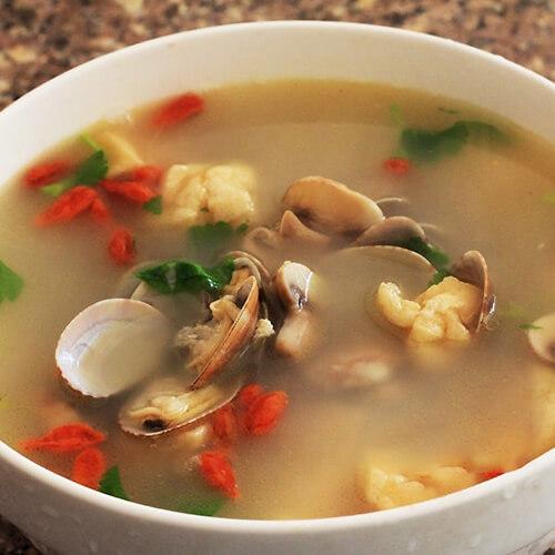 青蛤枸杞汤