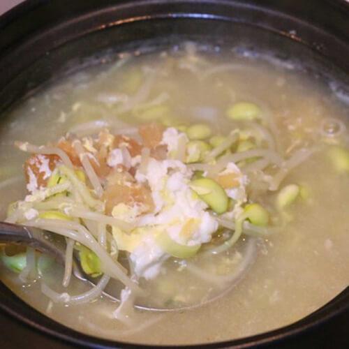 明太鱼豆芽汤