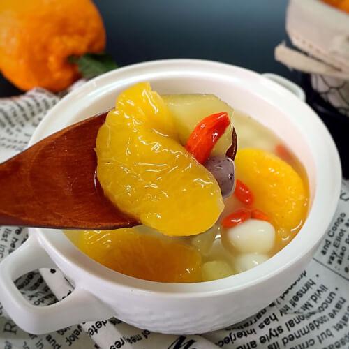 什锦水果甜汤