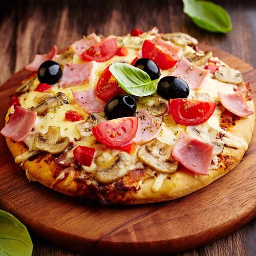 龙戏凤披萨