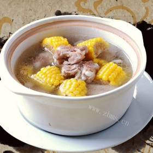玉米小排汤