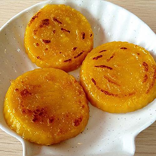 红枣南瓜饼