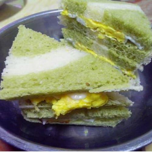 抹茶松子仁面包
