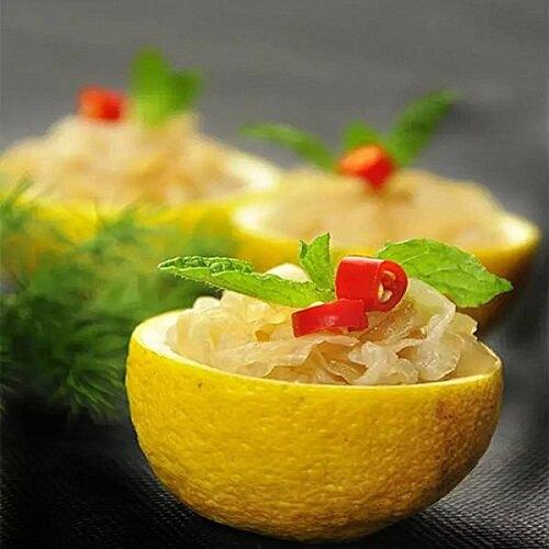 柠檬海蜇头