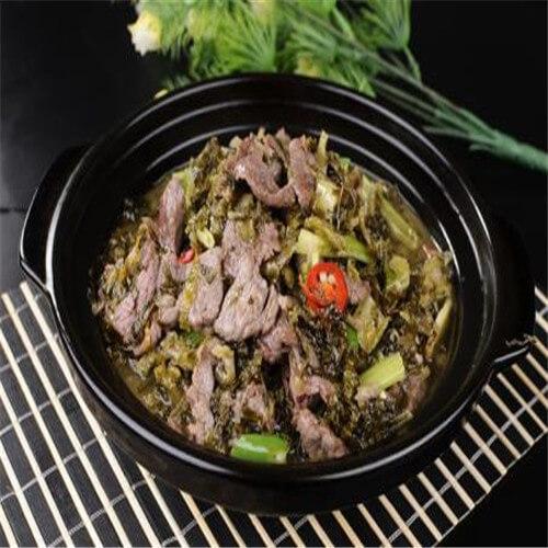 家庭酸菜砂锅