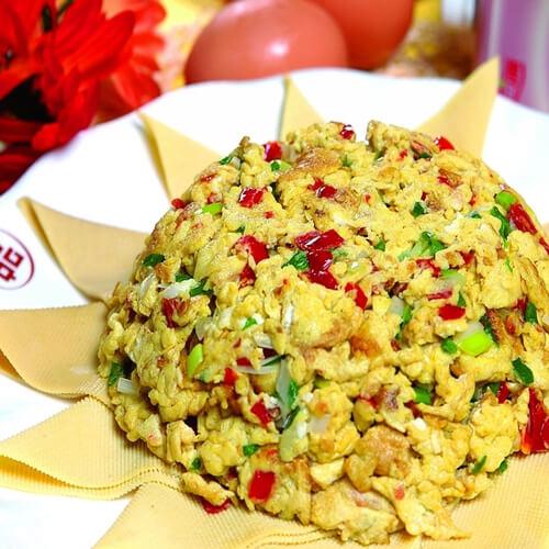 鸡蛋炒虾酱