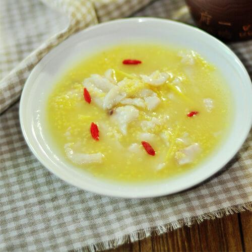 土豆瘦肉小米粥
