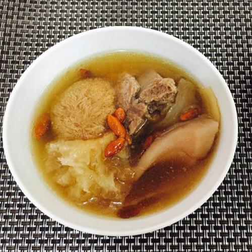 猴头菇猪骨汤