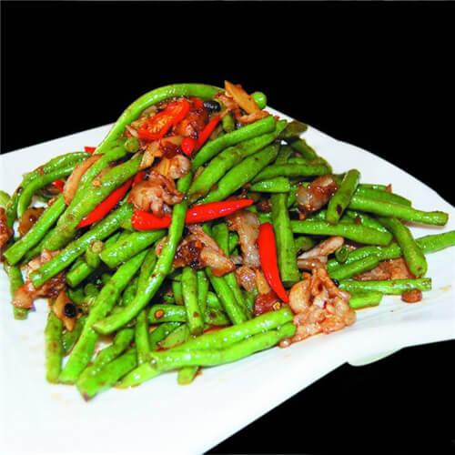 长豇豆炒香干