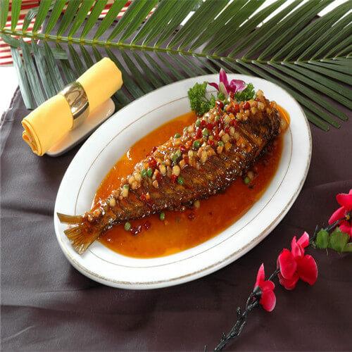 红烧黄鳐鱼