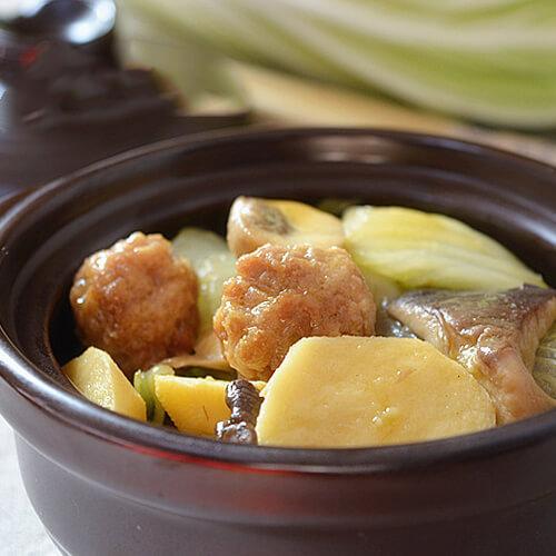 牛肝菌炒白菜