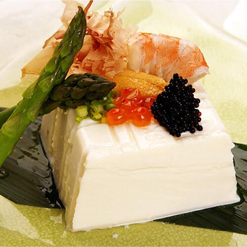 日式冷豆腐