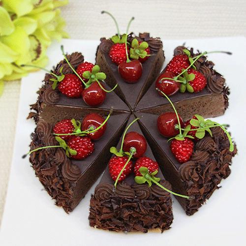 花朵桑葚蛋糕