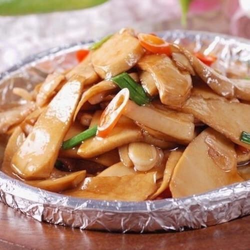 蚝油鲍鱼菇