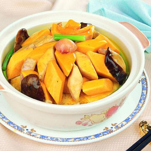 鲜香南瓜煲
