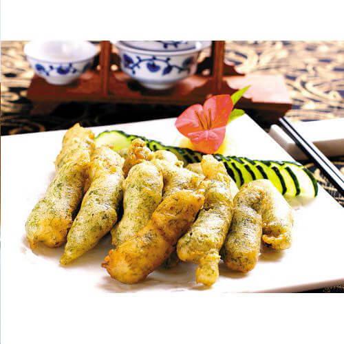 苔菜拖黄鱼
