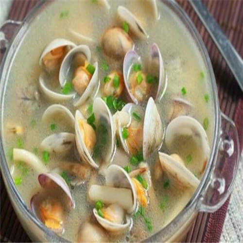 蛤蜊萝卜煮排骨汤