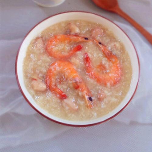 龙俐鱼虾干粥