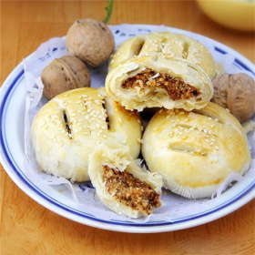 花生核桃奶香饼