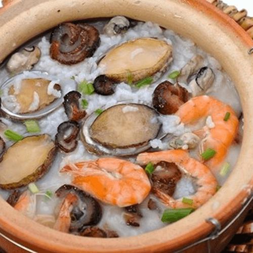 海参鲍鱼粥