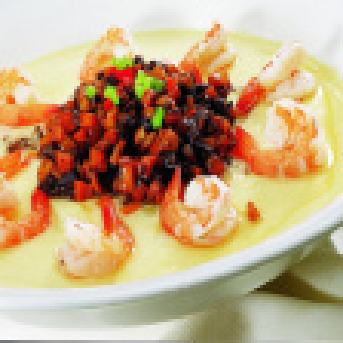 海参海虾蒸蛋