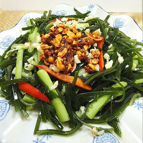 海带炒黄瓜