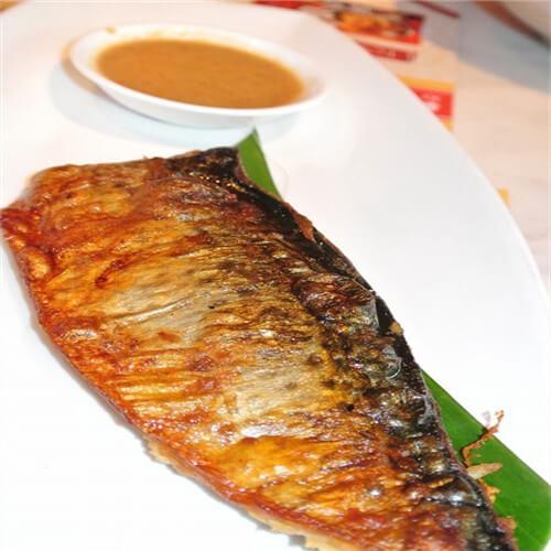 香煎挪威薄盐鲭鱼