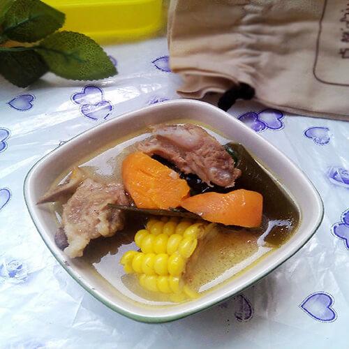 海带猪肚胡萝卜汤