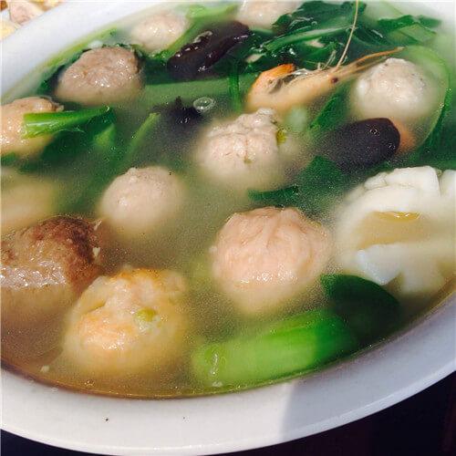 三鲜丸子汤