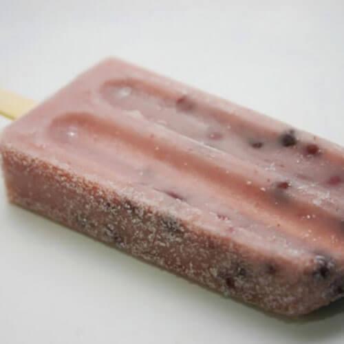 红小豆牛奶雪糕