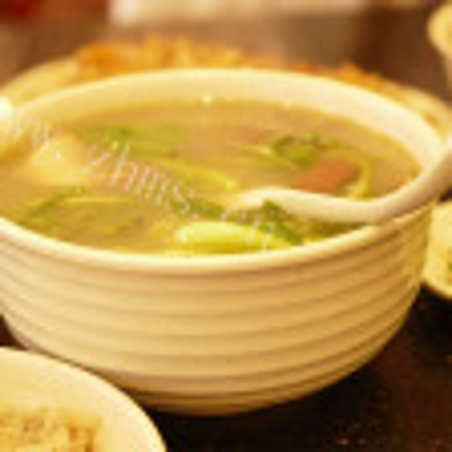 鸡杂白瓜汤