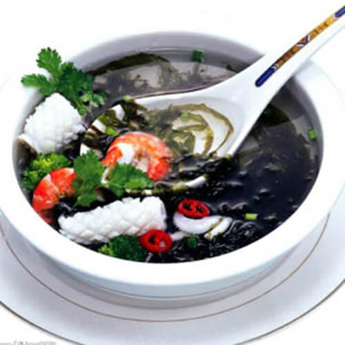 南方紫菜蟹柳汤