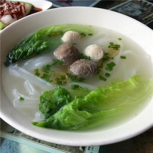 泰国河粉烧鹅汤