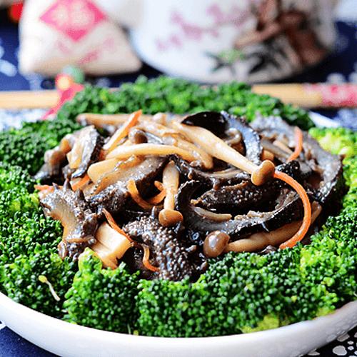 菌菇烩海参
