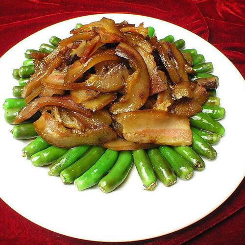 辣炒猪头肉