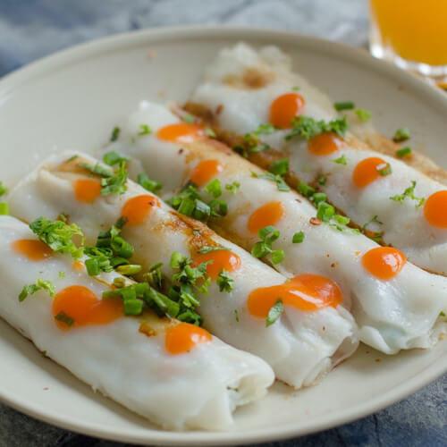 蒜香美味豆腐卷