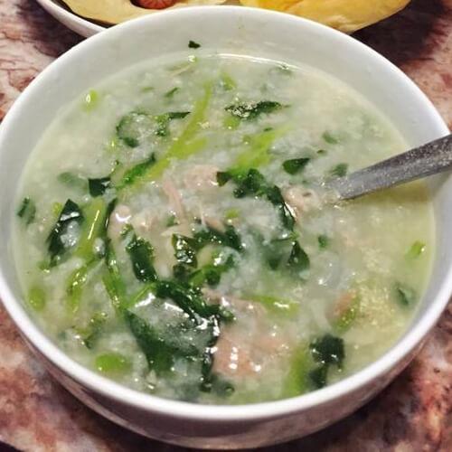 扇骨西洋菜粥