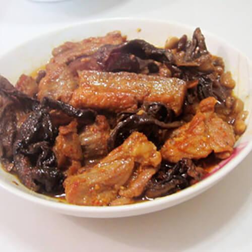 咸纳豆蒸肉