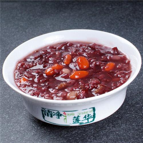 黑米黄小米芸豆粥