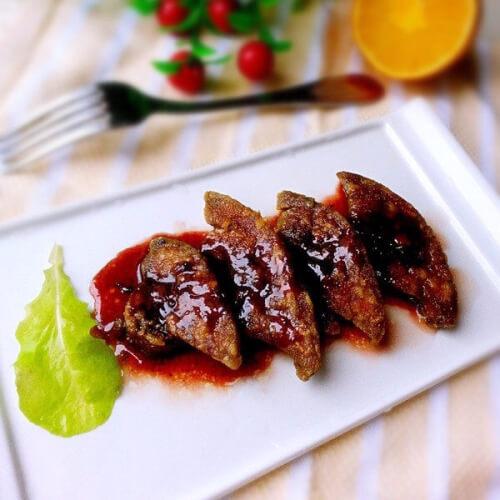 法式红酒鹅肝